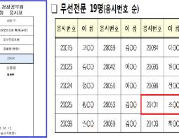 경찰 합격생 조동희